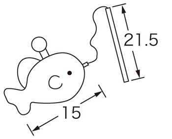 魚つりセット(大)★布のおもちゃでゲームをしよう!
