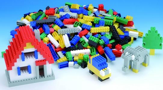 【完売】【お取り寄せ】日本製★ダイヤブロック「基本セット」★ブロックの世界は無限大!