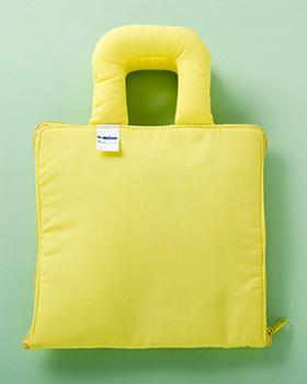 【布絵本】どっちかな(黄)★ページをめくりながら楽しくあそぶ★バッグのかたち!