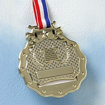 (お取り寄せ/返品不可)きねんメダルとら★がんばったごほうびに、ゴールドメダル
