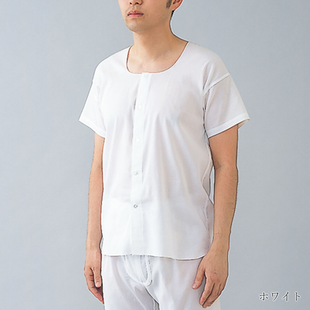 [癒しの工房] 紳士クレープ 面二シャツ