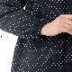 【癒しの工房®】久留米織裏キルトコクーンジャケット