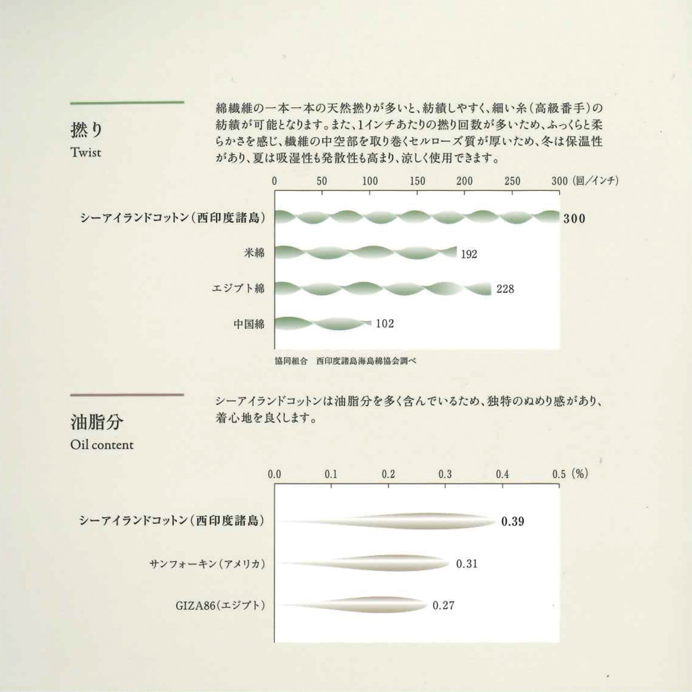 [癒しの工房] 海島綿ふんわり3分袖