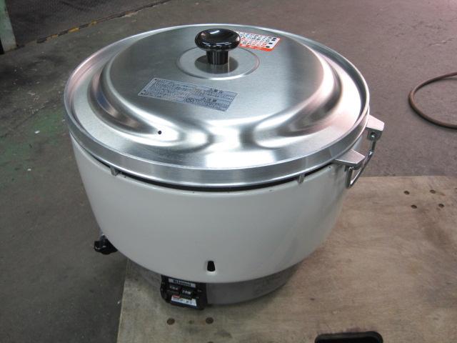 【リンナイ】【業務用】【中古】 炊飯器 RR-50S1 都市ガス
