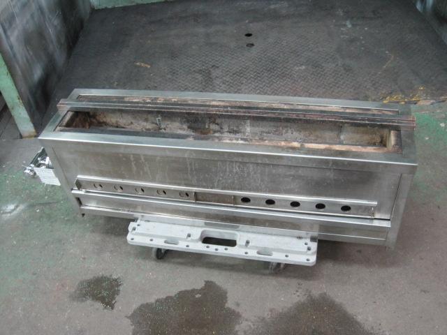 【秋元ステンレス】【業務用】【中古】 焼き物器 CB-900 都市ガス