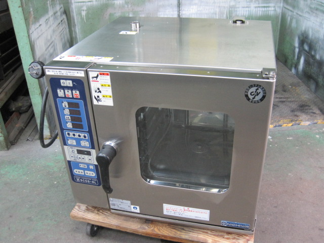 【ニチワ】【業務用】【中古】 スチームコンベクションオーブン SCOS-523RL-L 三相200V