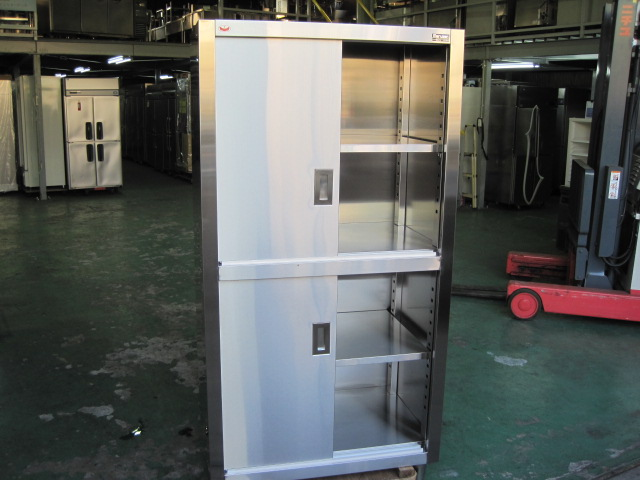 【W900xD600xH1800mm】【業務用】【未使用新古品】 食器戸棚 C4165