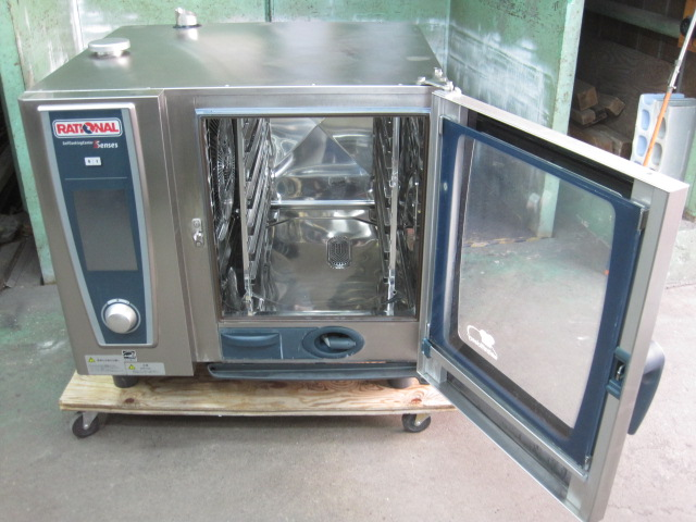 【ラショナル】【業務用】【中古】 スチームコンベクションオーブン SCCWE61 三相200V