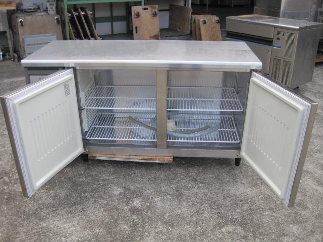 【フクシマガリレイ】【業務用】【中古】 冷蔵コールドテーブル YRC-150RM2 単相100V