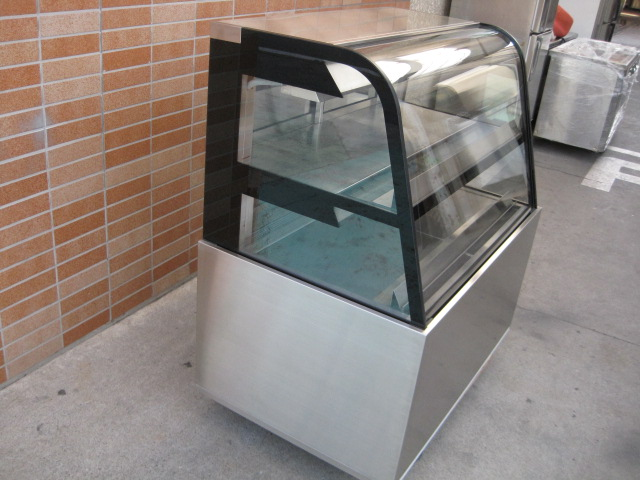 【メーカー不明】【業務用】【中古】 冷蔵ショーケース 三相200V
