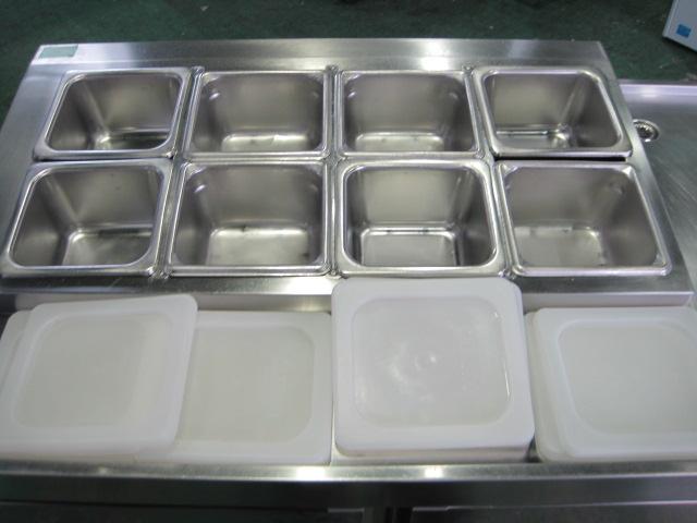 【フジマック】【業務用】【中古】 サンドイッチ冷蔵コールドテーブル FRT1260KX**** 単相100V