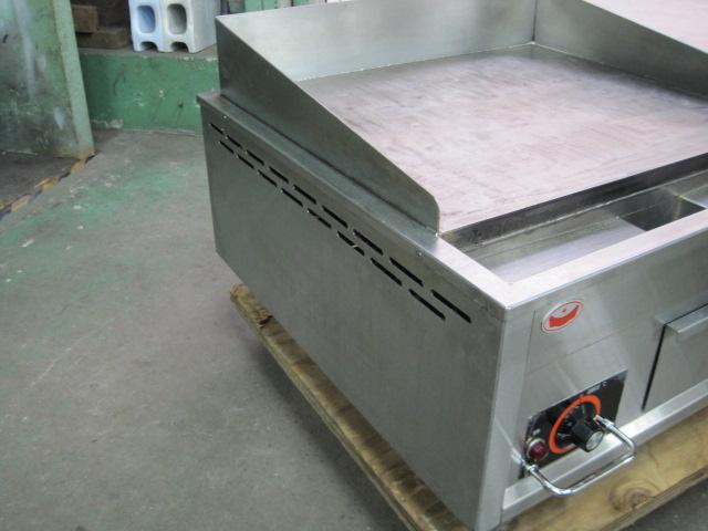 【マルゼン】【業務用】【中古】 電気式グリドル MEG-066 三相200V