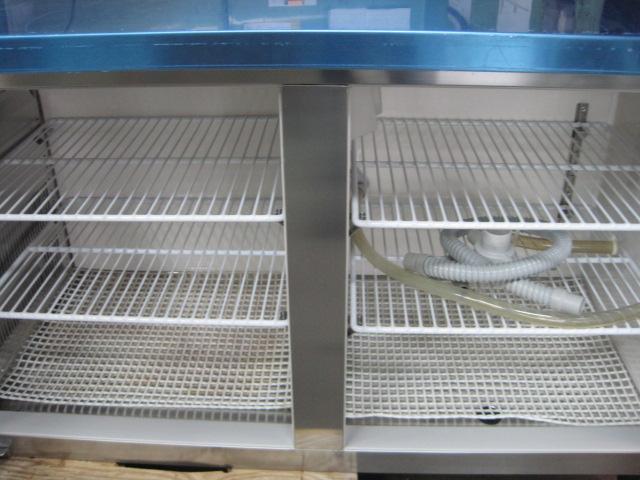 【ホシザキ】【業務用】【中古】 冷凍冷蔵コールドテーブル RFT-150MNF 単相100V