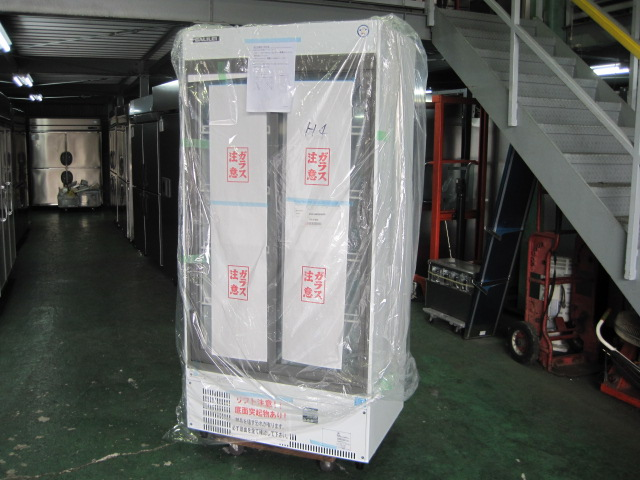 【フクシマガリレイ】【業務用】【新品】 リーチイン冷蔵ショーケース MSS-090GHWSR◎ 単相100V