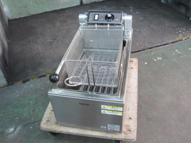 【フジマック】【業務用】【中古】 卓上電気フライヤー FEF96 三相200V