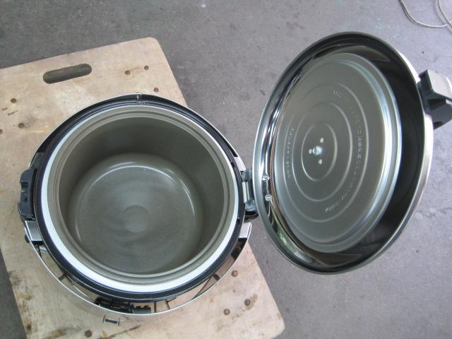 【リンナイ】【業務用】【中古】 ガス炊飯器 RR-S15VNS 都市ガス/単相100V
