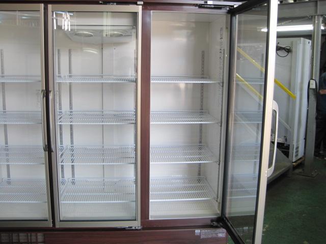 【ホシザキ】【業務用】【中古】 リーチイン冷蔵ショーケース USR-180XT3-1HB◎ 三相200V/単相100V ※両電源必要