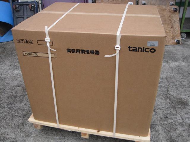 【タニコー】【業務用】【新品】 卓上スチームコンベクションオーブン TESC-5L* 三相200V ※左開き