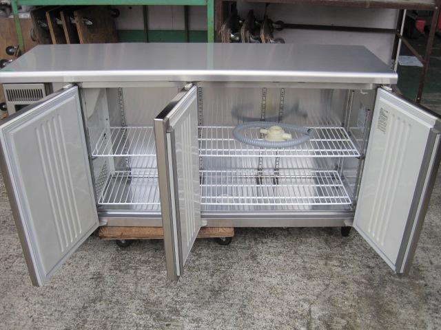 【フクシマガリレイ】【業務用】【中古】 冷蔵コールドテーブル TMU-50RM2-F 単相100V