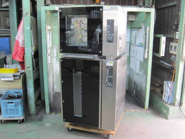 【フジマック】【業務用】【中古】 コンベクションオーブン&ドゥコンディショナー FECS787484/FRDCT121CA* 三相200V