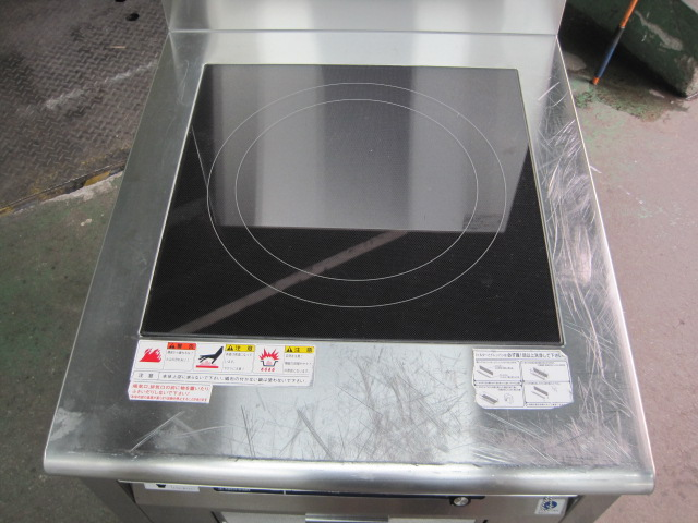 【ニチワ】【業務用】【中古】 IHコンロ MIR-7LSP* 三相200V