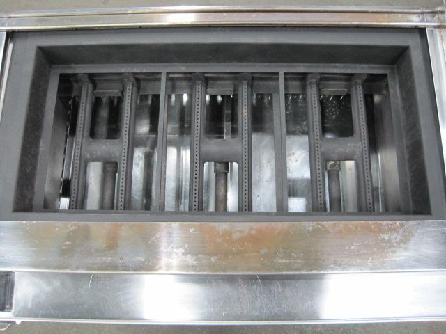 【秋元ステンレス】【業務用】【中古】 溶岩石焼物器 CEL-90st* 都市ガス