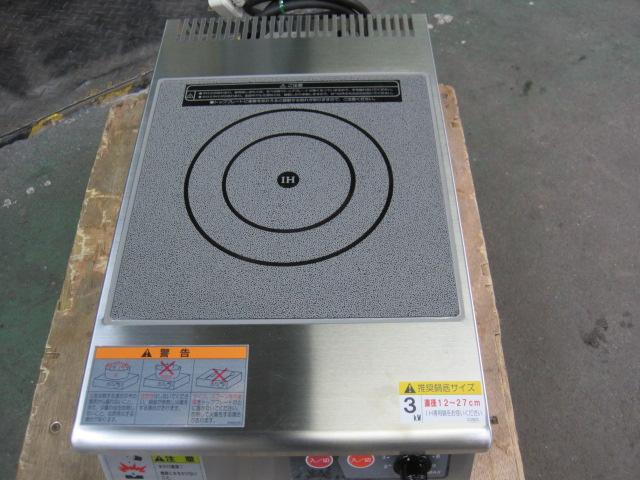 【タニコー】【業務用】【中古】 IHコンロ TIH-3NN 単相200V