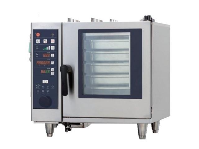 【タニコー】【業務用】【新品】 卓上スチームコンベクションオーブン TESC-5R* 三相200V