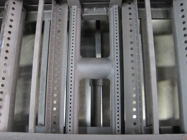 【秋元ステンレス】【業務用】【中古】 溶岩石焼物器 グリラー CEL-90ST* 都市ガス