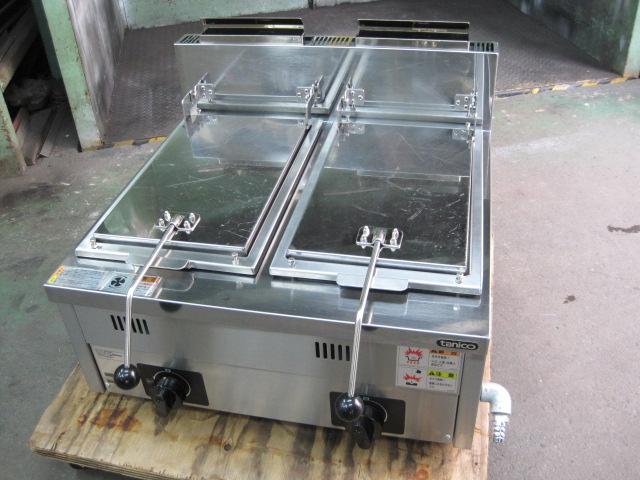 【タニコー】【業務用】【中古】 餃子焼器 N-TCZ-6060GW 都市ガス