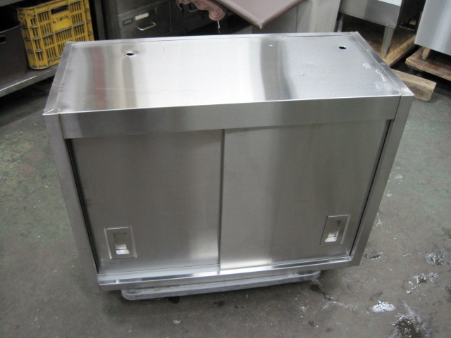【W800xD350xH600mm】【業務用】【中古】 吊戸棚 C4610