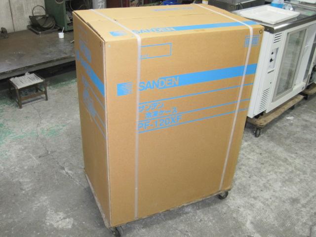 【サンデン】【業務用】【未使用新古品】 冷凍ストッカー PF-120XF 単相100V