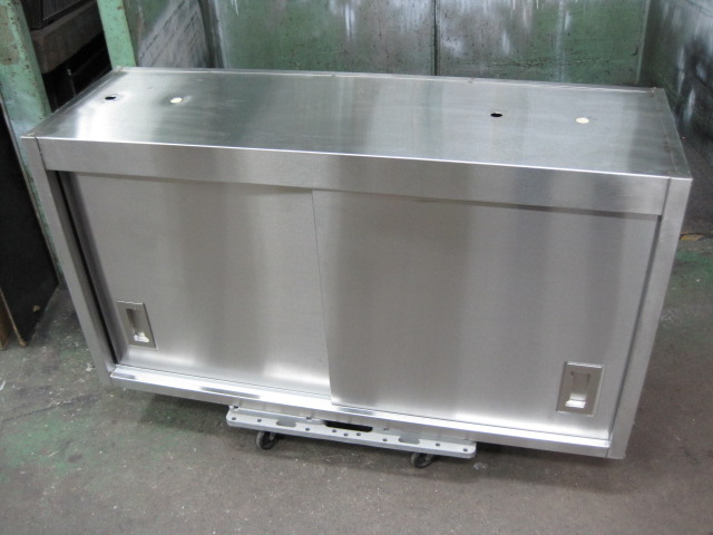 【W1100xD350xH600mm】【業務用】【中古】 吊戸棚 C4651
