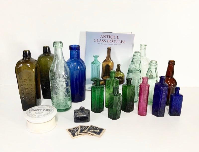 ガラスボトル各種 (3点)