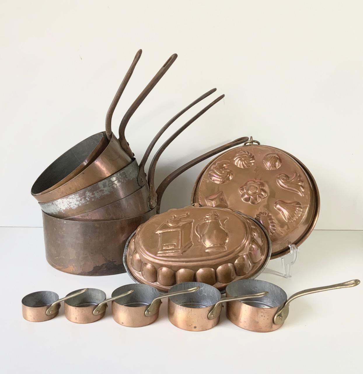 銅鍋・モールドセット