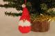 �-1【限定2】Nordic 木製人形 Girl(present)&サンタクロース 吊り 2点セット