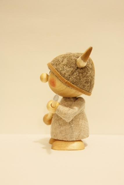 Nordic 木製人形 バイキング-B
