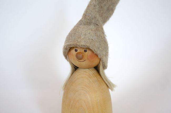 【17th 限定】Nordic 木製人形 バイキングファミリー 2点セット