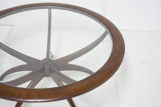 G-PLAN ガラストップテーブル(スパイダー)