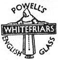 レンタル:イギリス ヴィンテージ  Whitefraiars(ホワイトフライヤーズ)ガラス 取り扱います