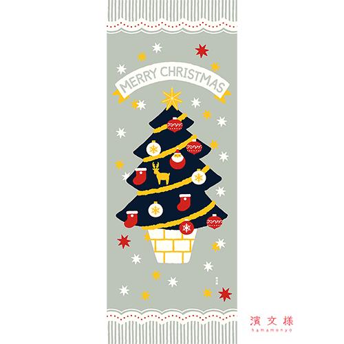 絵てぬぐい わくわくクリスマス