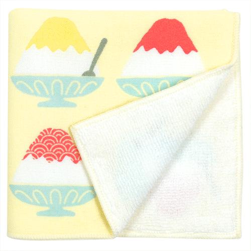 接触冷感セミウォッシュタオル 富士山かき氷