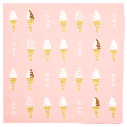 接触冷感セミウォッシュタオル ひやりソフトクリーム