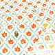 てぬぐい 秋の葉小紋