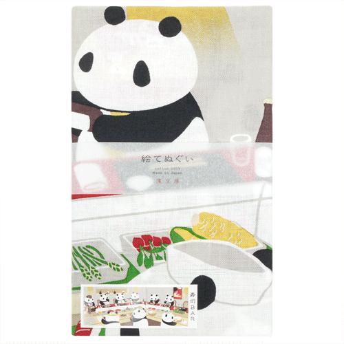 絵てぬぐい 寿司BAR