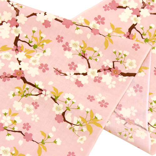 てぬぐい 幸せ桜