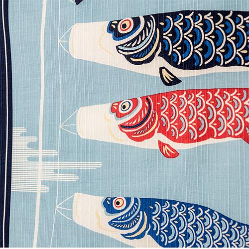 小布 空およぐ鯉のぼり コン