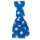 綿ストール 可愛い桜紋 ブルー
