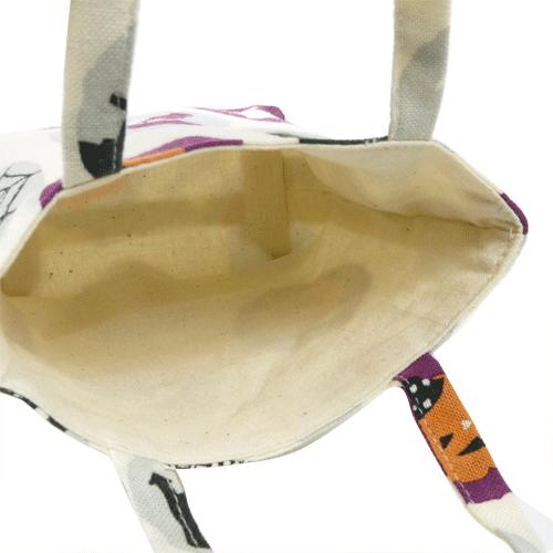豆トート ハロウィン水玉