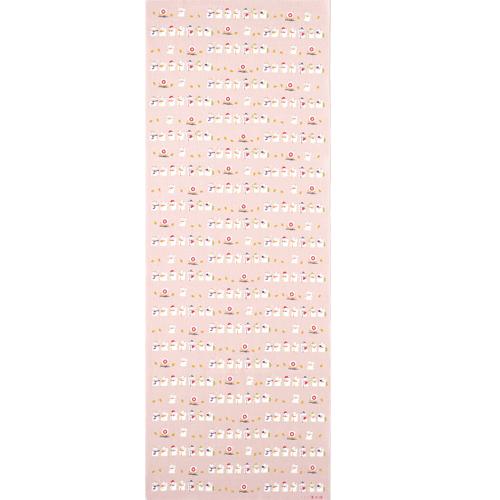 てぬぐい 七福神豆招き猫